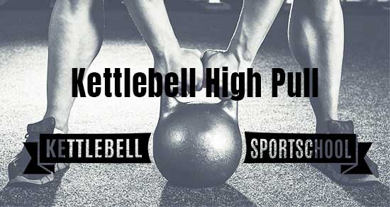 kettlebell high pull single arm