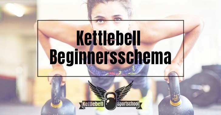 kettlebell beginnersschema